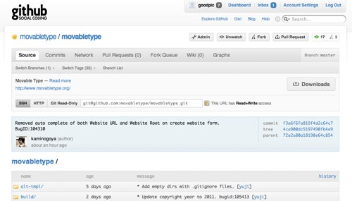 MovableType org – News: Movable Type development moving to