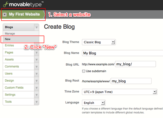 how to write a new blog on blogger
